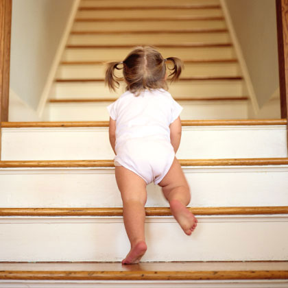 Toddler-on-Stairs
