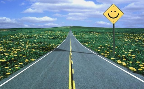 Estrada-feliz